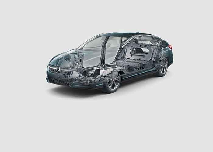 2018 Honda Clarity Plug In Hybrid Body Structure