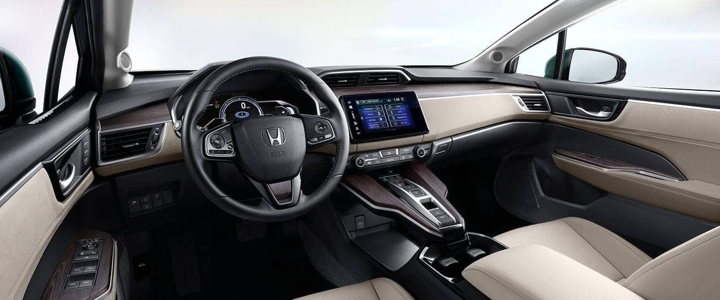 2018 Honda Clarity Plug In Hybrid Front Interior Dashboard