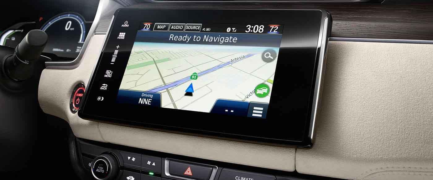 2018 Honda Clarity Plug In Hybrid Navigation