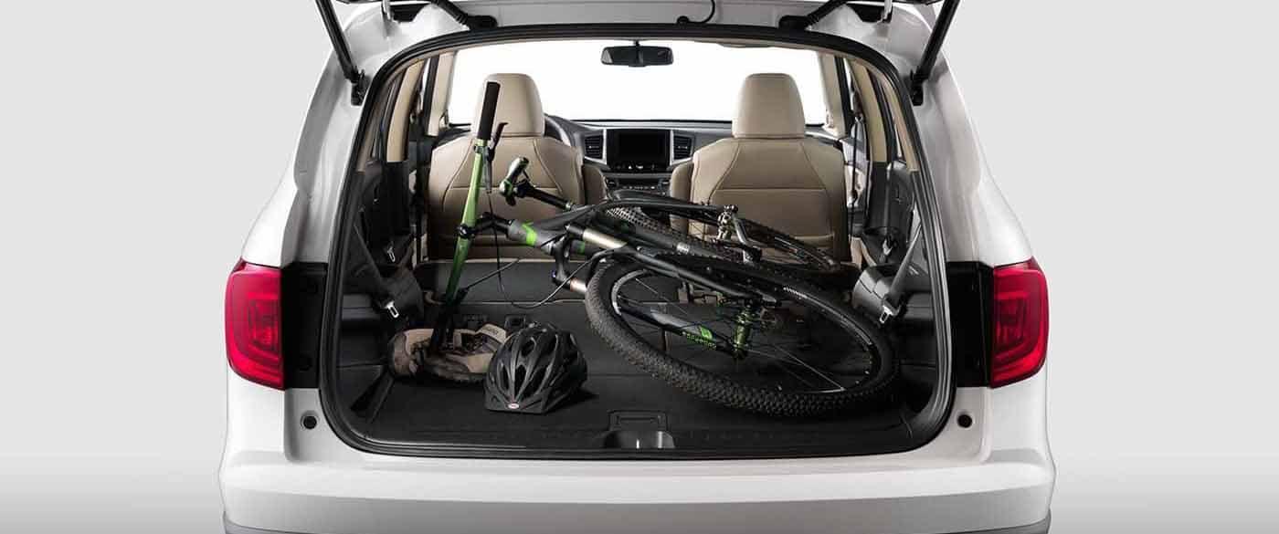 Towing Capacity Of Honda Pilot >> Cargo Space of the 2018 Honda Pilot