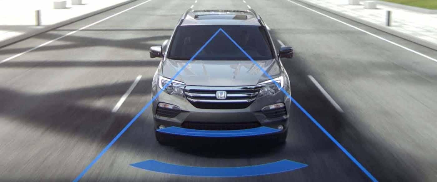 2018 Honda Pilot Collision Mitigation System