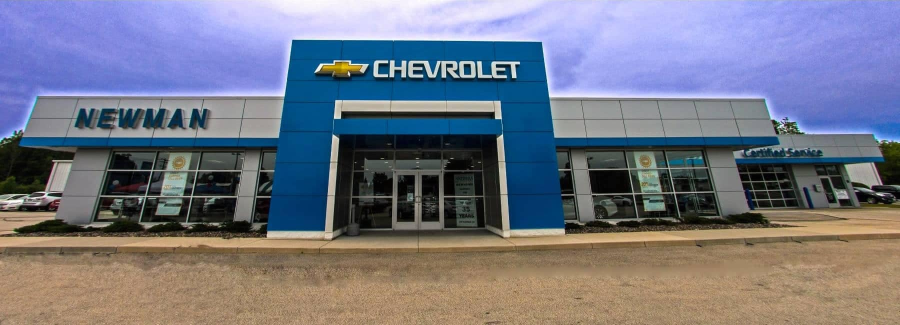 Newman Chevrolet Storefront