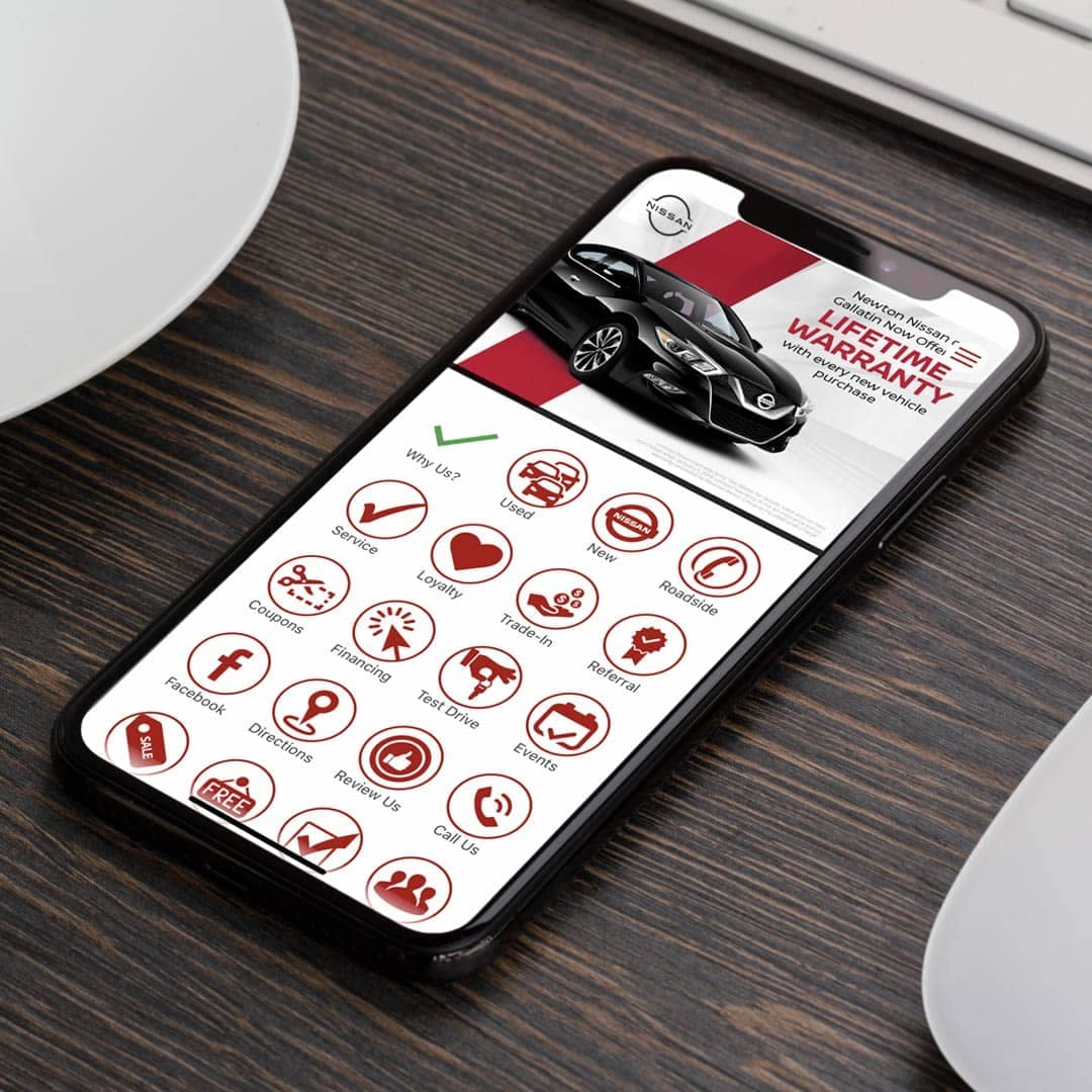Newton Nissan App