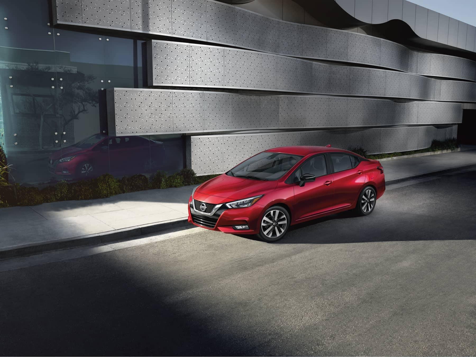 2020 Red Nissan Versa