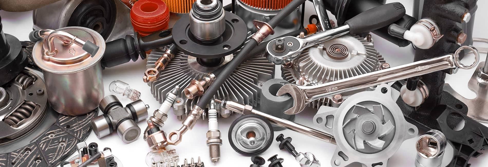 An assortment of parts