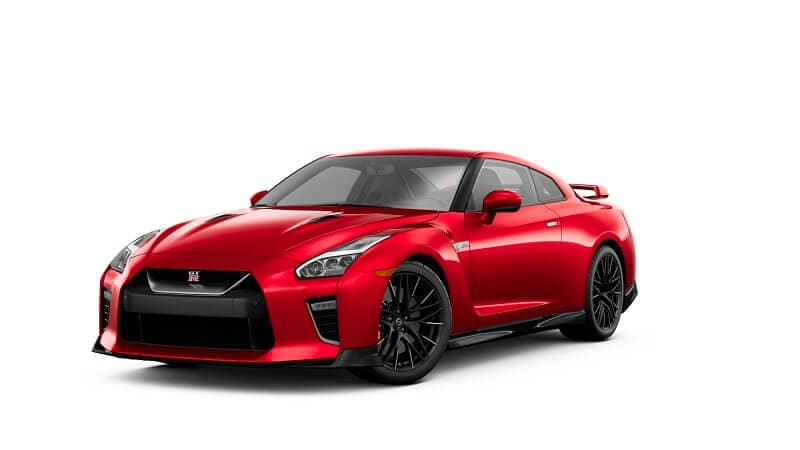 2021 Nissan GT-R Premium in Solid Red