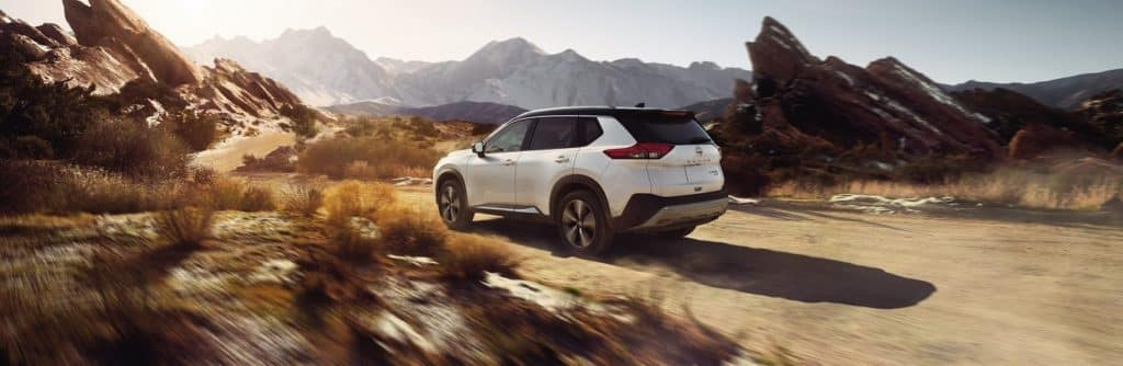2021 Nissan Rogue in White