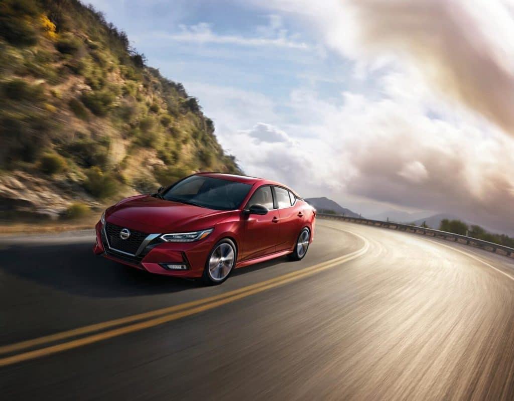 2021 Nissan Sentra Premium in Scarlet Ember Tintcoat