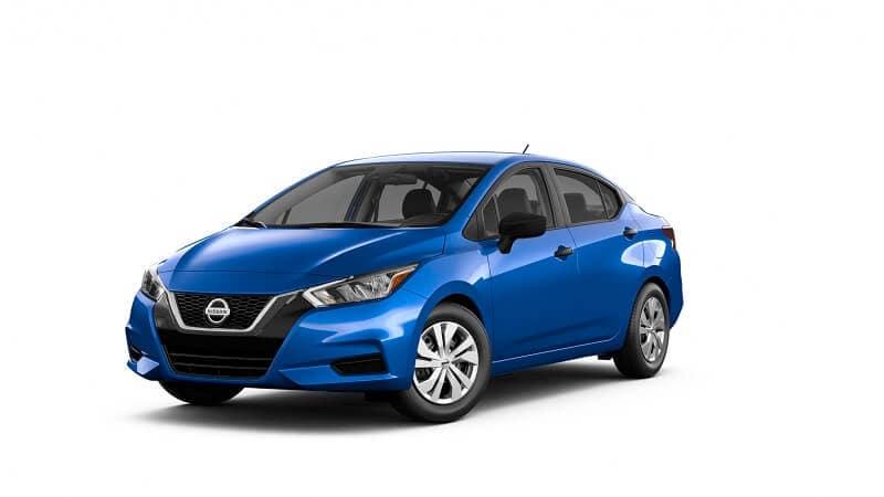 2021 Toyota Versa S in Electric Blue Metallic