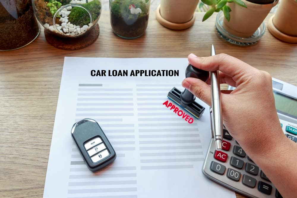 Approved Car Loan Application
