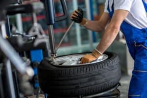 Taking Rim off Tire