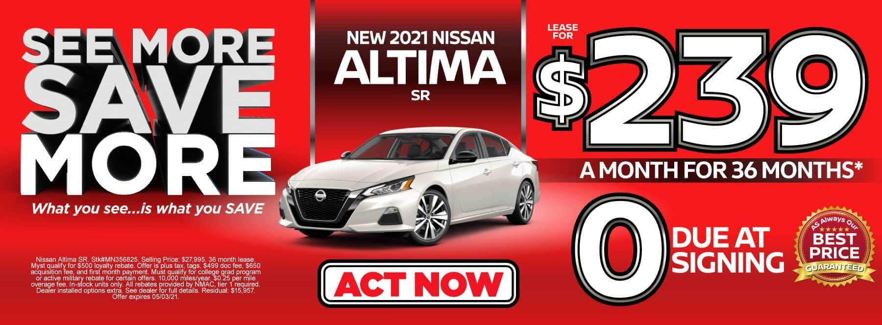 altima special banner