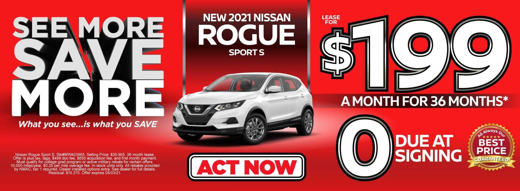 rogue sport special banner