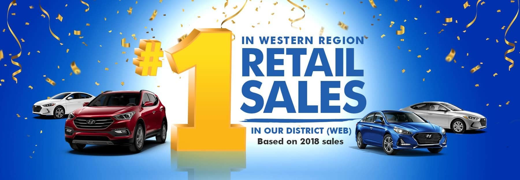 number one retail sales banner