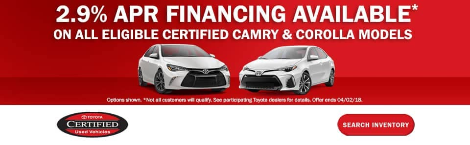 Toyota Certified Pre-Owned