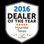 2016 Dealer of the Year Award