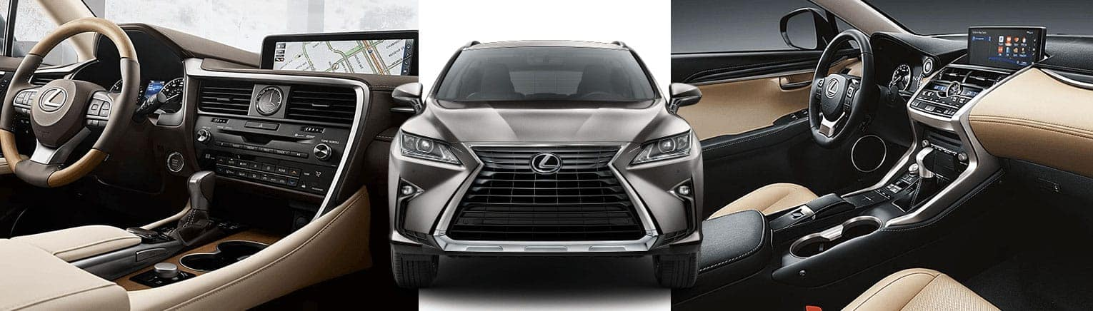 Lexus Nx Vs Rx >> Discover The Difference Compare The Lexus Rx And Nx North