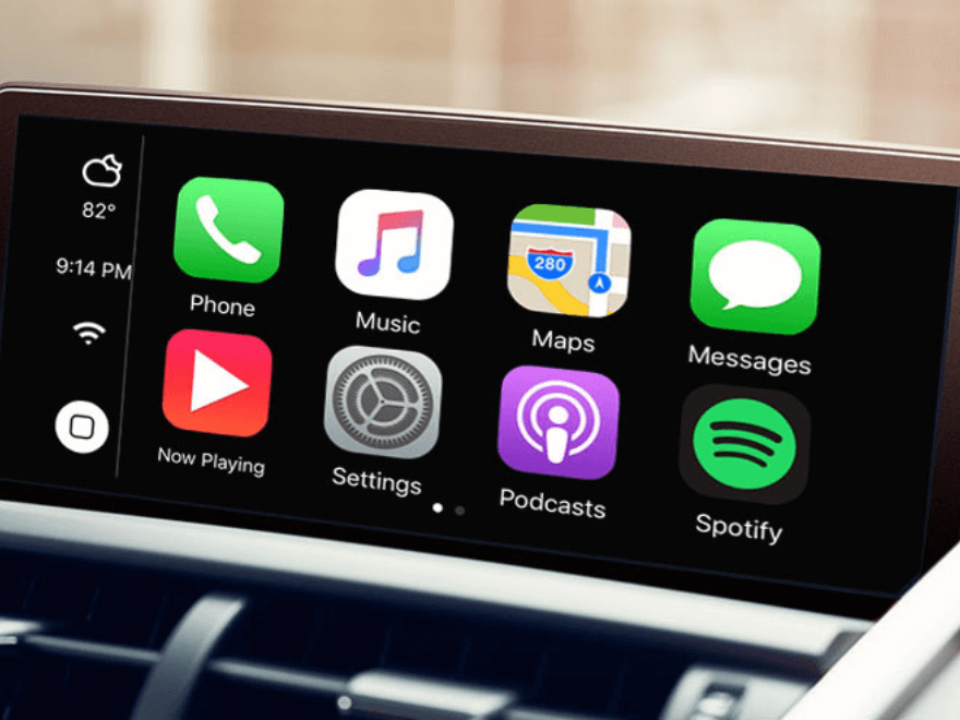 Apple CarPlay in Lexus
