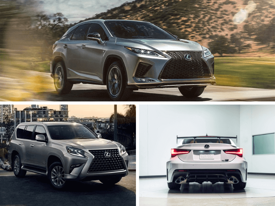 New Lexus Model Calendar