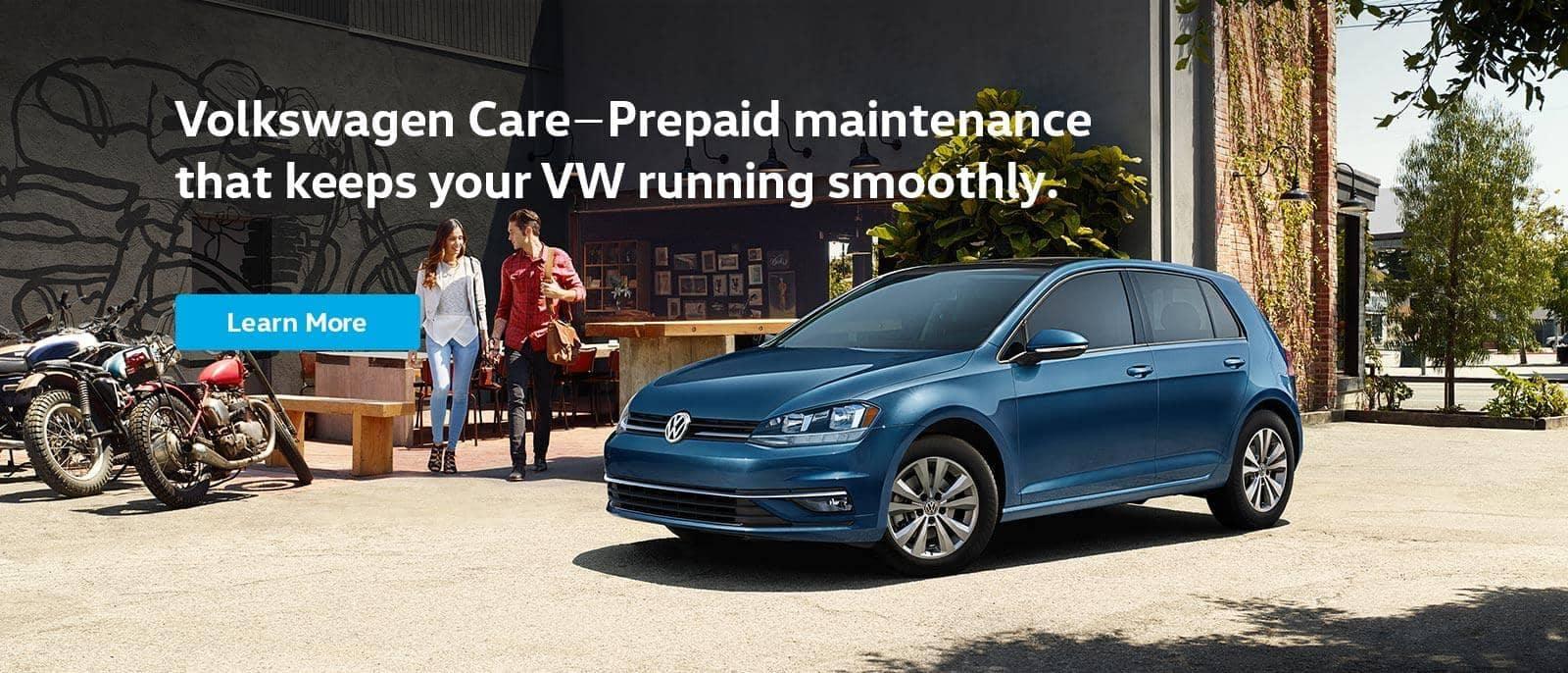 VW Care maintenance