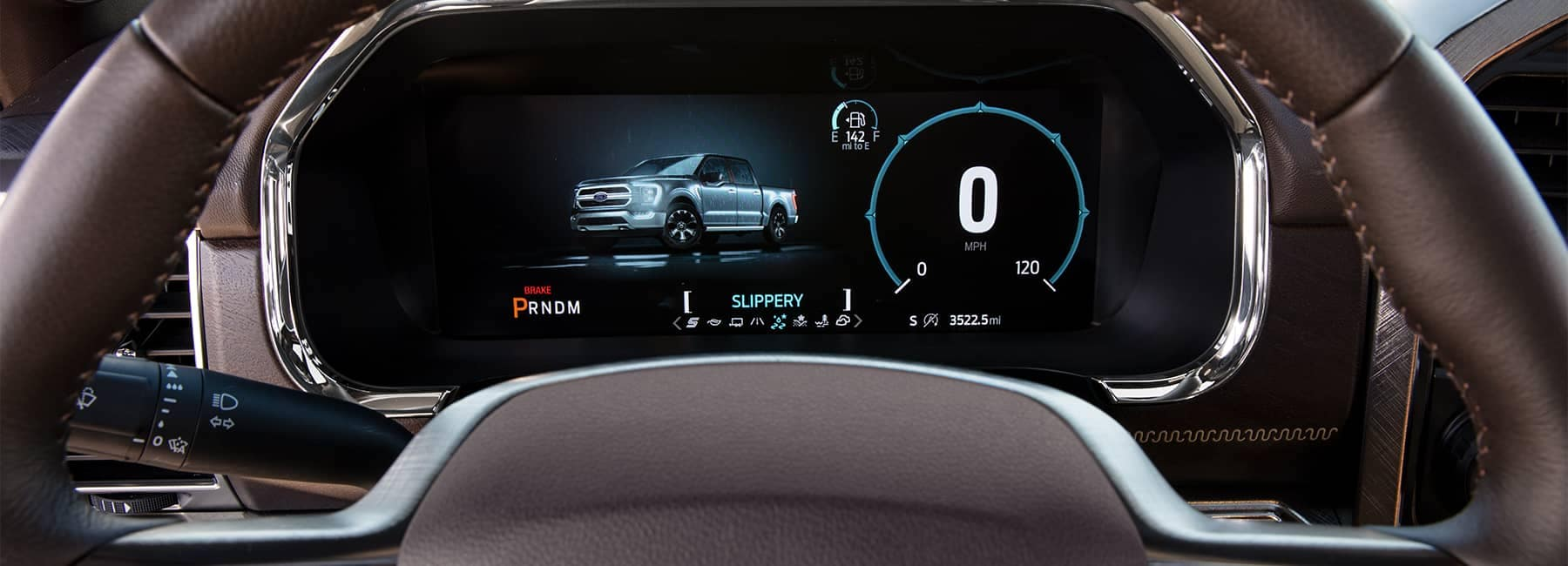2021 Ford F-150 driver_s dashboard