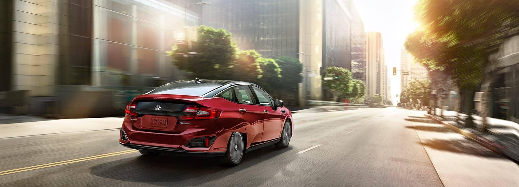 2020 Honda Clarity Rear View