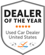 Dealer of the year DealerRater logo