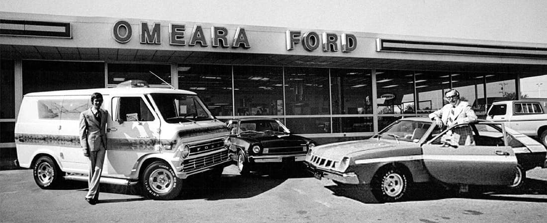 Old photo of Dealership