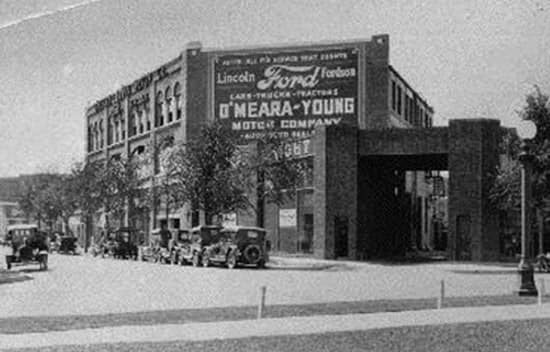 Old Picture of Dealership