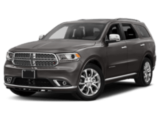 Front angle of the 2019 Dodge Durango