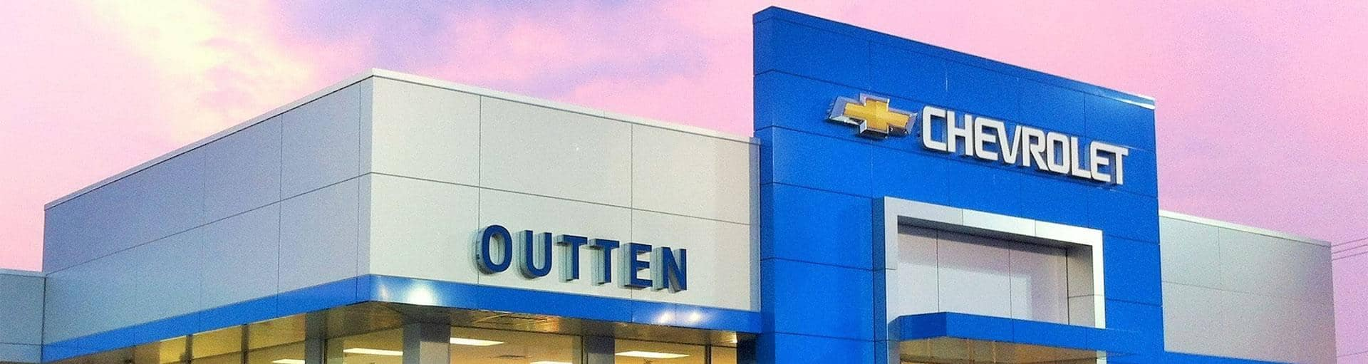 Outten Chevy Dealership Outside