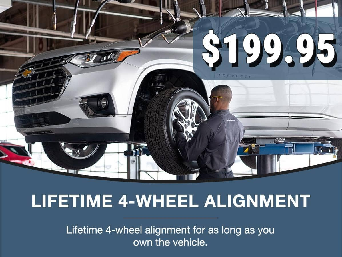 lifetime four wheel alignment