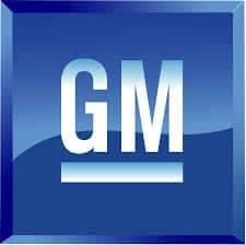 GM brand logo