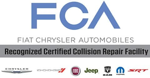 Certified Collision Center >> Certified Chrysler Dodge Jeep Ram Fiat Collision Repair In