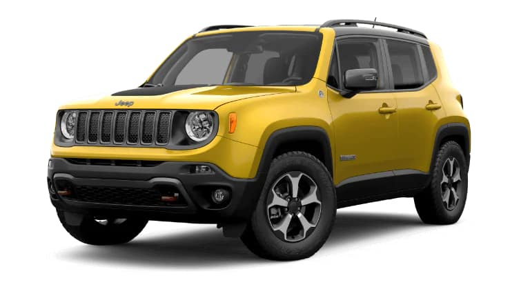 2019 Jeep Renegade Trailhawk Yellow