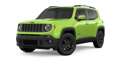 2018 Jeep Renegade Altitude in lime green