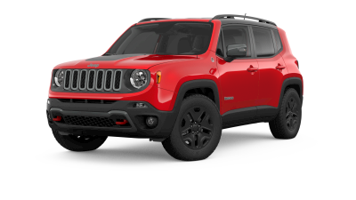 2018 Jeep Renegade trailhawk in red
