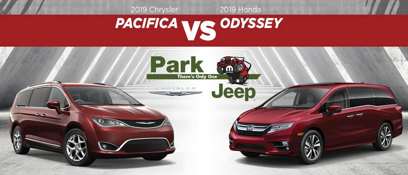 2019 Chrysler Pacifica vs. 2019 Honda Odyssey