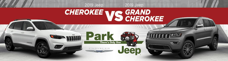 2019 Jeep Cherokee vs. Grand Cherokee