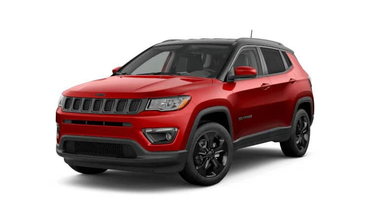 2019 Jeep Compass Altitude Red
