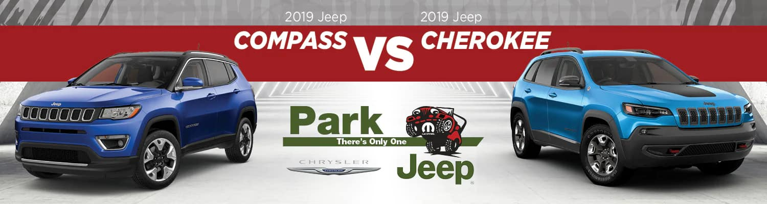 2019 Jeep Compass vs Cherokee