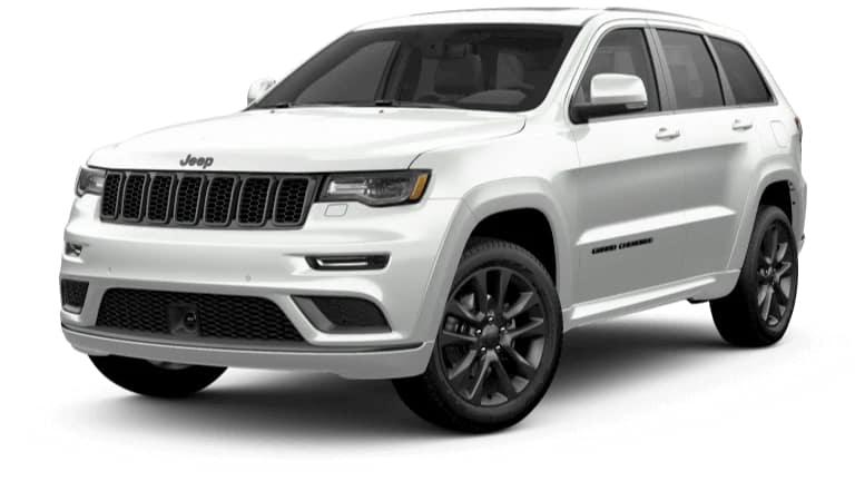 2019 Jeep Grand Cherokee High Altitude in White