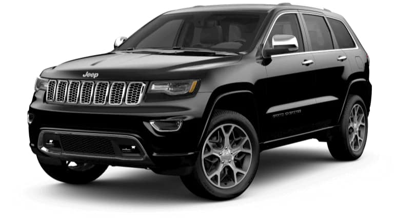 2019 Jeep Grand Cherokee Overland in Black