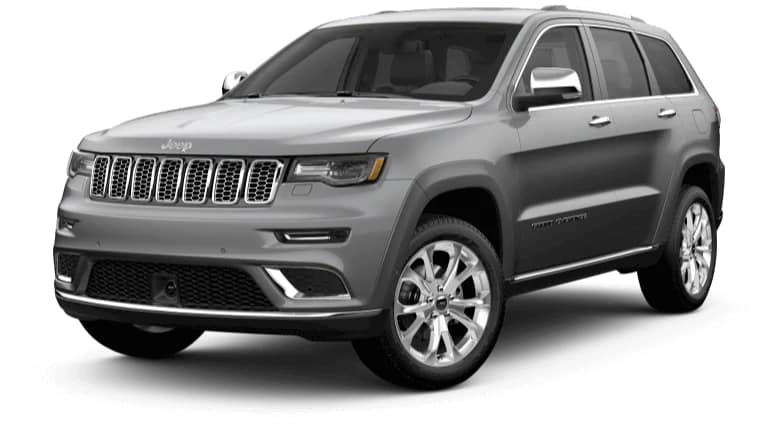2019 Jeep Grand Cherokee Summit in Billet Silver