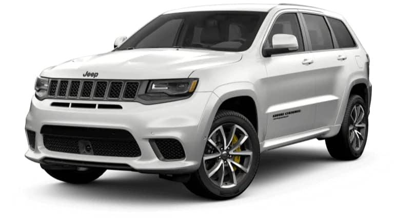 2019 Jeep Grand Cherokee Trackhawk in Silver