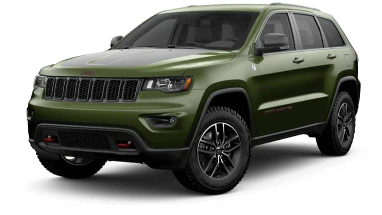 2019 Jeep Grand Cherokee Trailhawk in Green