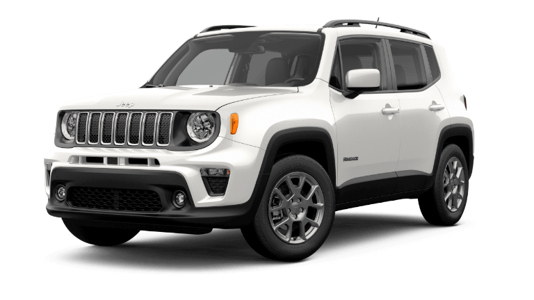 2019 Jeep Renegade Latitude White