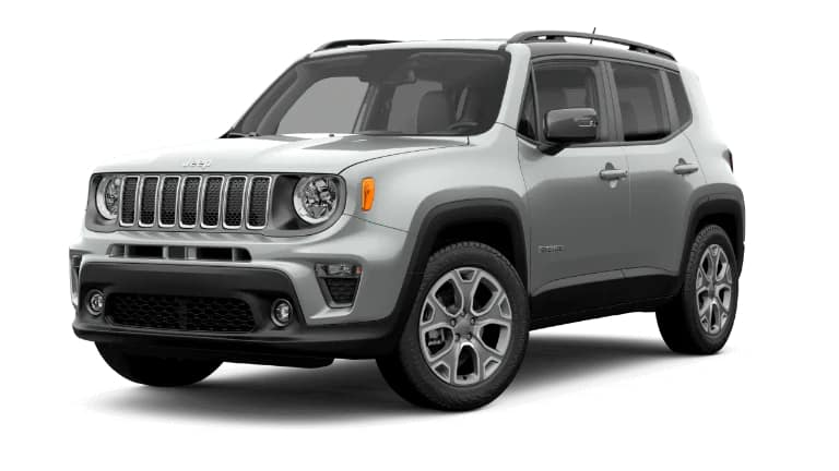 2019 Jeep Renegade Limited Silver