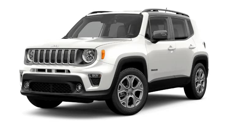 2019 Jeep Renegade Limited White