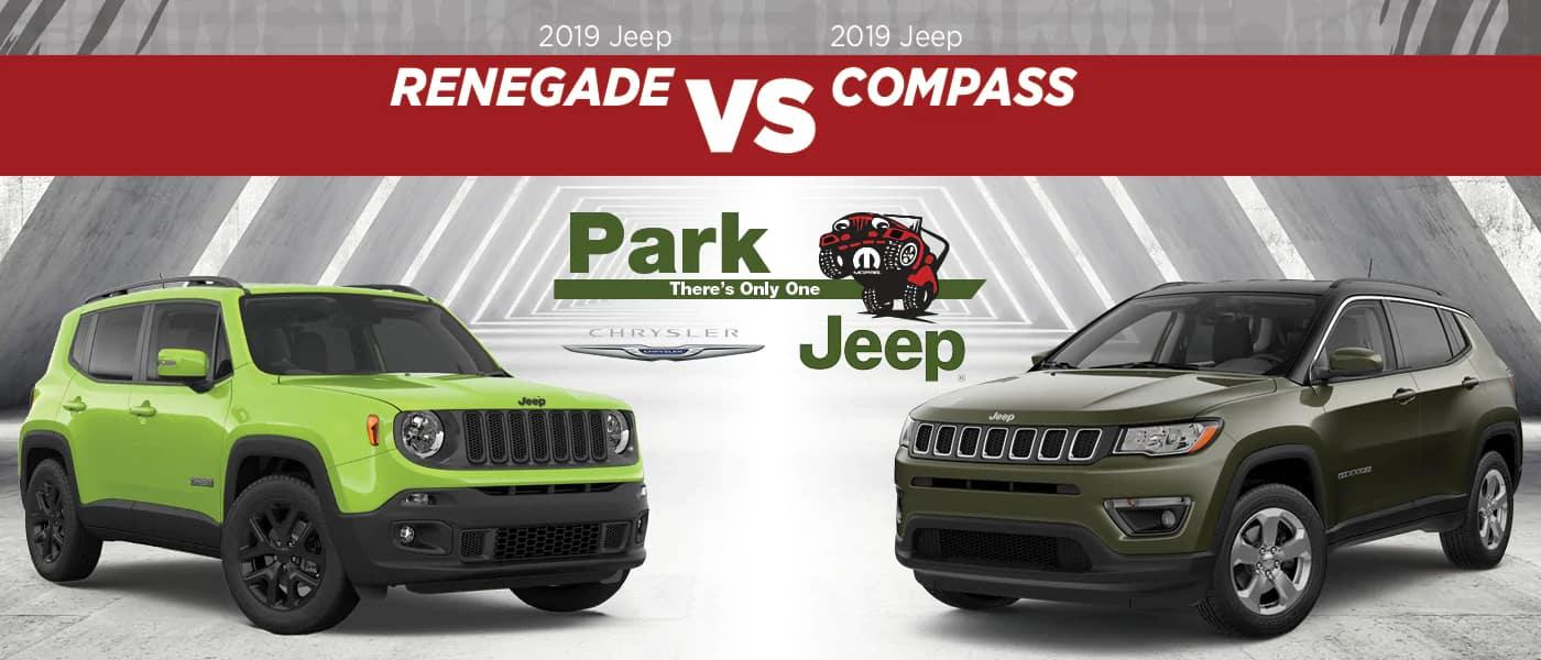 2019 Jeep Renegade vs. 2019 Jeep Compass